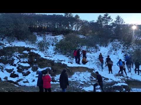 Kalinchok Trip Snow