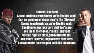 Eminem ft 50 cent - Jimmy Crack Corn ( Lyrics )