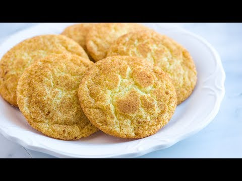 Easy Snickerdoodles Recipe with Soft Chewy Centers – How to Make Homemade Snickerdoodles