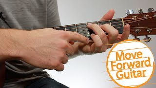 Guitar Chords For Beginners - CMaj7