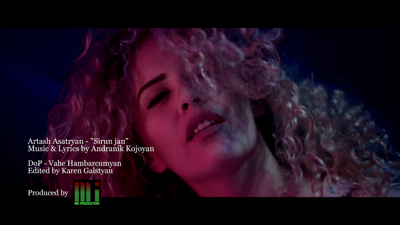 Artash Asatryan – Sirun Jan // Official Music Video // 4K 2016