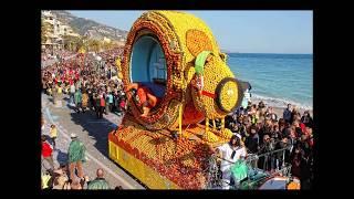 Ментон, Лазурный берег, Франция - Фестиваль лимонов