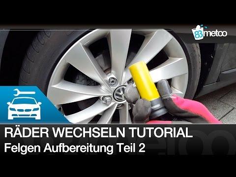 Reifen wechseln / Räder wechseln [TUTORIAL] - Winterreifen richtig wechseln | metoo83