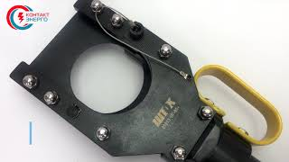 Насадка для резки гидравлическая НГ-100+ ШТОК от компании VL-Electro - видео