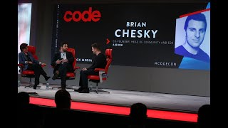 Airbnb CEO Brian Chesky | Full interview | Code 2018