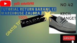 TUTORIAL RETUR BARANG KE ZALORA 100% GRATIS TIS TIS