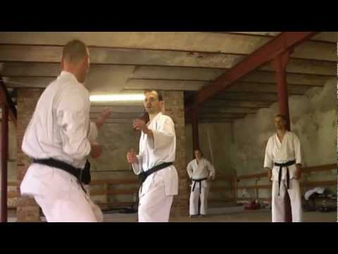 Shotokan Karate - Kumite (Sparring), Black Belt Exam