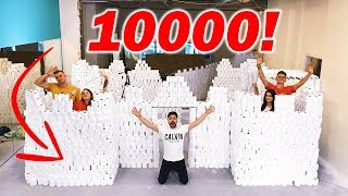 ZAMEK Z 10,000 ROLEK PAPIERU TOALETOWEGO!