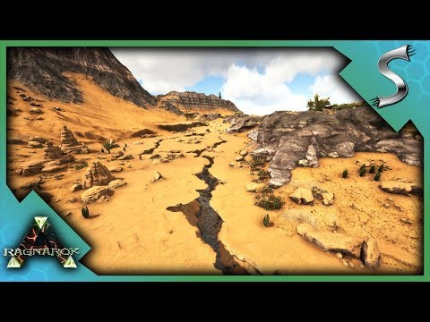 ARK NEW DESERT BIOME, ALL CAVE LOCATIONS + AWESOME BASE
