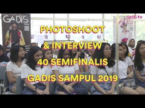 GADIS Sampul 2019 | Photoshoot Dan Interview 40 Semifinalis GADIS Sampul 2019