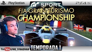 GT SPORT - FIA NATIONS CUP SEASON 1 | RED BULL X2014 JUNIOR - MONZA | GTro_stradivar Carrera Online