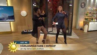 Se När Tilde Dansar Loss I Nyhetsmorgon - Nyhetsmorgon (TV4)