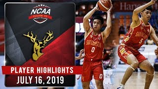 BASTE'S ONE TWO PUNCH: Ilagan, Bulanadi Catch Fire As Stags Rout Mapua | NCAA 95 MB