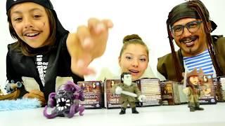 Polen ile Karayip korsanların maceraları. Eğlenceli video
