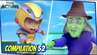 Vir The Robot Boy | Animated Series For Kids | Compilation 52 | WowKidz Action