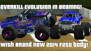 BeamNG.Drive Monster Jam; Overkill Evolution is here in CRD 1.17 Beta15