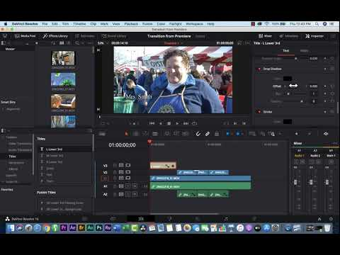 DaVinci Resolve - Transitions and Titles,