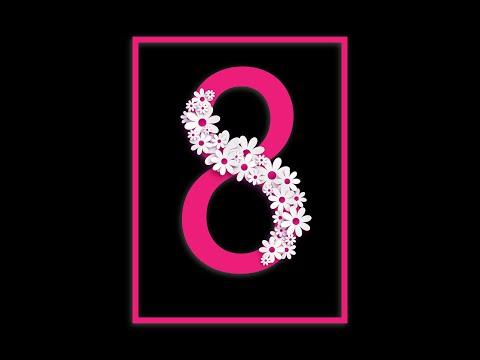 🌸ОБАЛДЕННАЯ КРАСИВАЯ ПЕСНЯ НА 8 МАРТА!🌺 Супер поздравление 8 марта!🌷С Международным женским днем🌹