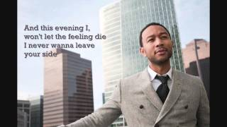 John Legend - You & I Lyrics