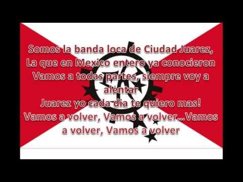 """""""Cantos para alentar a Fc Juarez. Barra El Kartel"""" Barra: Barra El Kartel • Club: FC Juárez"""