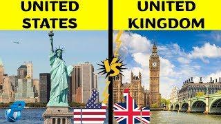 United States Of America VS United Kingdom   Country Comparison   USA VS UK 2020