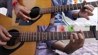 Tera Mera Rishta - K.k - Jalebi - Guitar cover lesson chords tutorial easy version