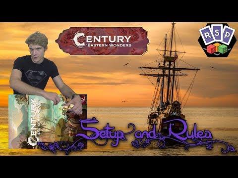 Century Eastern Wonders Setup & Rules