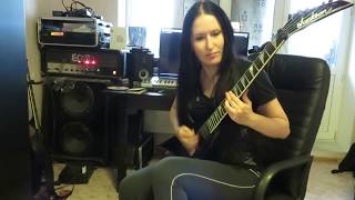 Anorexia Nervosa - Sister September (guitar cover, Blackthorn version)