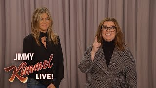 Melissa McCarthy vs. Jennifer Aniston – The Great Gravity Debate