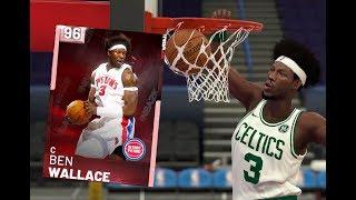 Pink Diamond Ben Wallace! - NBA2K19 MyTeam Gameplay