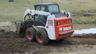 How to Operate a Bobcat S130 Skid Steer Loader