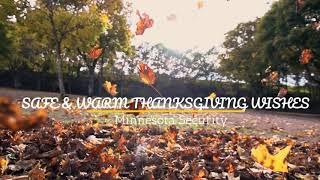 Safe & Warm Thanksgiving Wishes