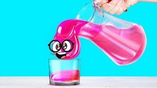 7 ASTONISHING LIQUID CRAFTS with Slime Sam - Pour, Spill, Play!