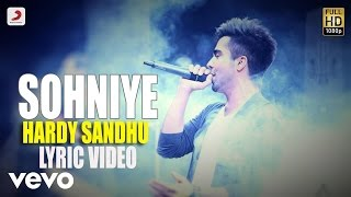 Hardy Sandhu - Sohniye  | This Is Hardy Sandhu | Lyric Video