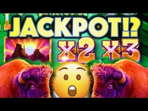 ★BUFFALO DIAMOND! MASSIVE WIN!★ BUT CAN I JACKPOT!? 😮🙏 Slot Machine Bonus (Aristocrat)