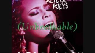 Alicia Keys - Unbreakable(Lyrics + Download)