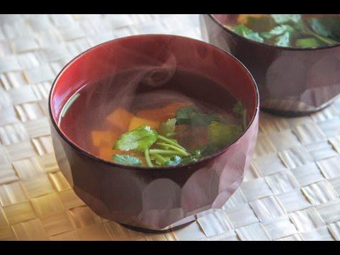 Sumashijiru Recipe – Japanese Cooking 101