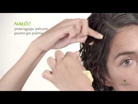 Rambutan olej z włosów
