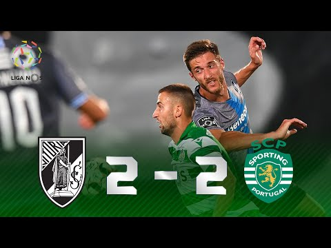 JOGÃO! Melhores momentos de Vitória de Guimarães 2 x 2 Sporting pela Liga NOS