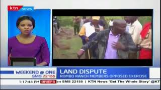 Land adjudication in Rombo ranch disputed over row