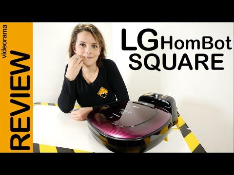 LG HomBot Square review en español