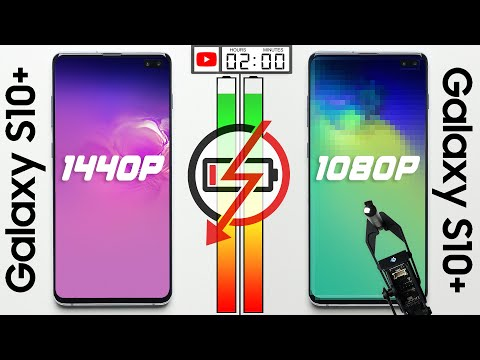 Test batteria: smartphone display 1440p vs 1080p