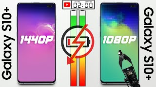 1440p vs 1080p Battery Test