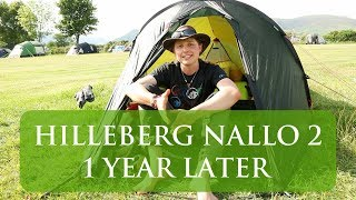 Hilleberg Nallo 2 - 1 year on...