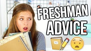 Freshman Advice | Back To School Tips