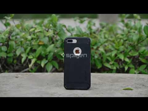 Spigen priekš iPhone 7 Plus/8 Plus, Melns cena un informācija | Maciņi, somiņas | 220.lv