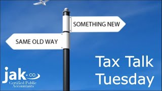 Tax Talk Tuesday: Change your habit and pay your taxes electronically