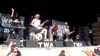 The Word Alive - Battle Royale (Warped Tour)