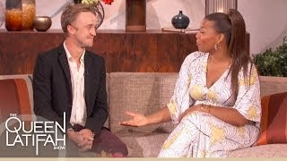 "Том Фелтон, Tom Felton Talks ""Harry Potter"" and Surprises Some Fans on The Queen Latifah Show"