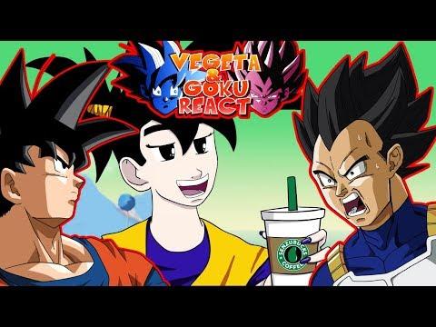 Vegeta & Goku React To If Goku and Vegeta were GIRLS! (Dbz Parody)
